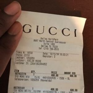 2530053b Gucci Shirts - Gucci Guccify Live from Milan Tee